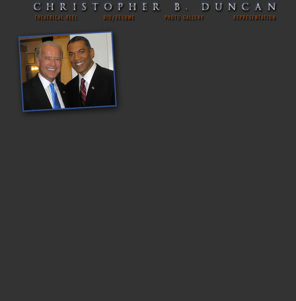 Christopher B. Duncan Video Page